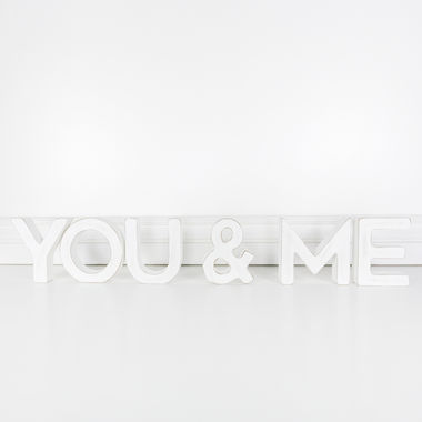 Click here to see Adams&Co 10907 10907 31x5x1 wd cutout (YOU & ME) wh