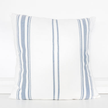 Click here to see Adams&Co 15461 15461 24x24 linen plw (STRIPES) wh/bl/gy
