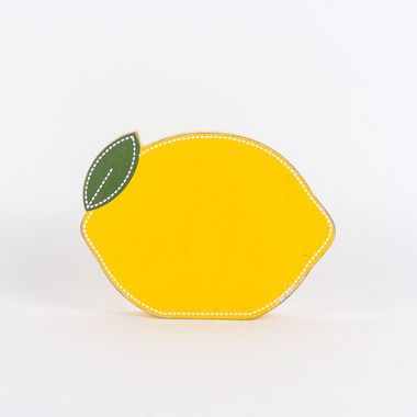 Click here to see Adams&Co 45049 45049 6x4.25x1.5 chunky wd shp (LEMON) yl/gn/wh