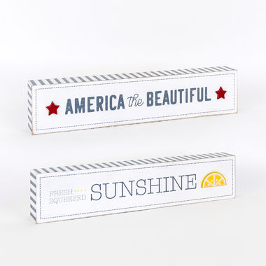 Click here to see Adams&Co 45092 45092 14x3x1.5 wd brick (SUN/AMRCA) multi