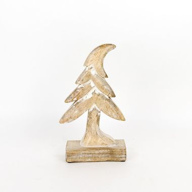 Click here to see Adams&Co 70760 70760 6x10x2 mngo wd cutout on stand (TREE) ntrl/wh
