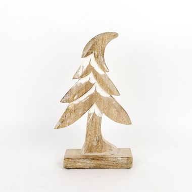 Click here to see Adams&Co 70761 70761 7x12x2 mngo wd cutout on stand (TREE) ntrl/wh