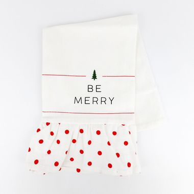 Click here to see Adams&Co 70934 70934 15x14 dsh twl (BE MERRY) multi
