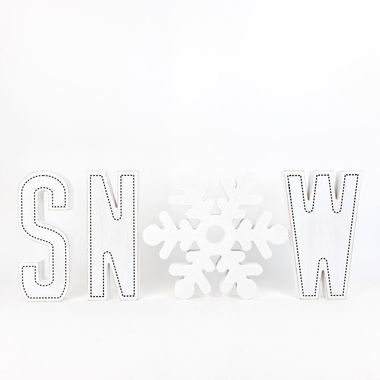 Click here to see Adams&Co 75417 75417 23x9x1.5 chnky wd cutout (SNOW) wh/bk
