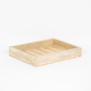 Click here to see Adams&Co 11420 11420 10x1.5x8 mngo wd tray, ntrl/wh UPC: 810071255014